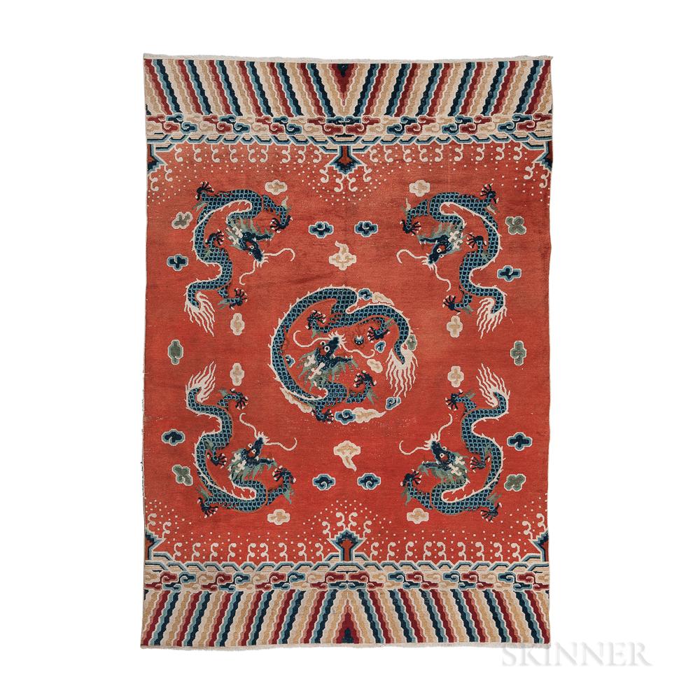 """Peking-style """"Dragon"""" Carpet"""