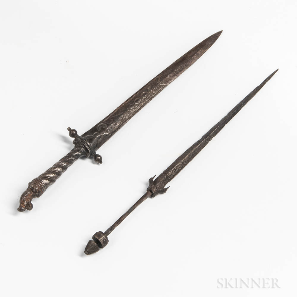 Two Medieval German Daggers