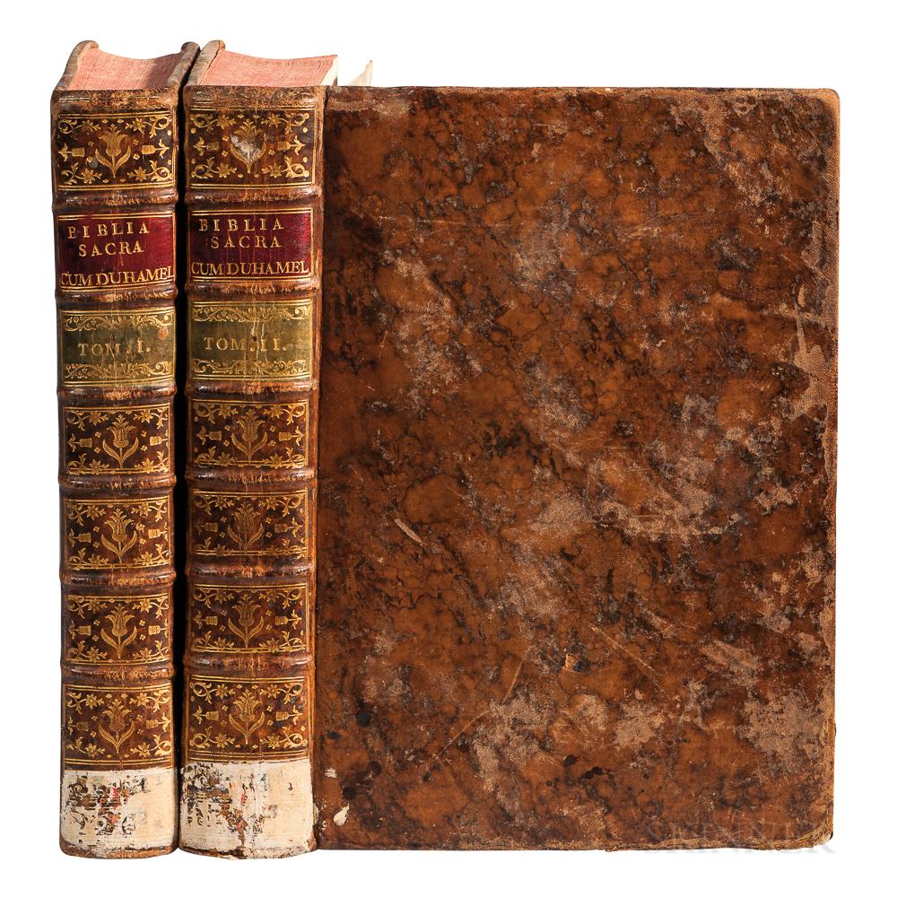 Bible, Latin. Biblia Sacra Vulgatae Editionis.