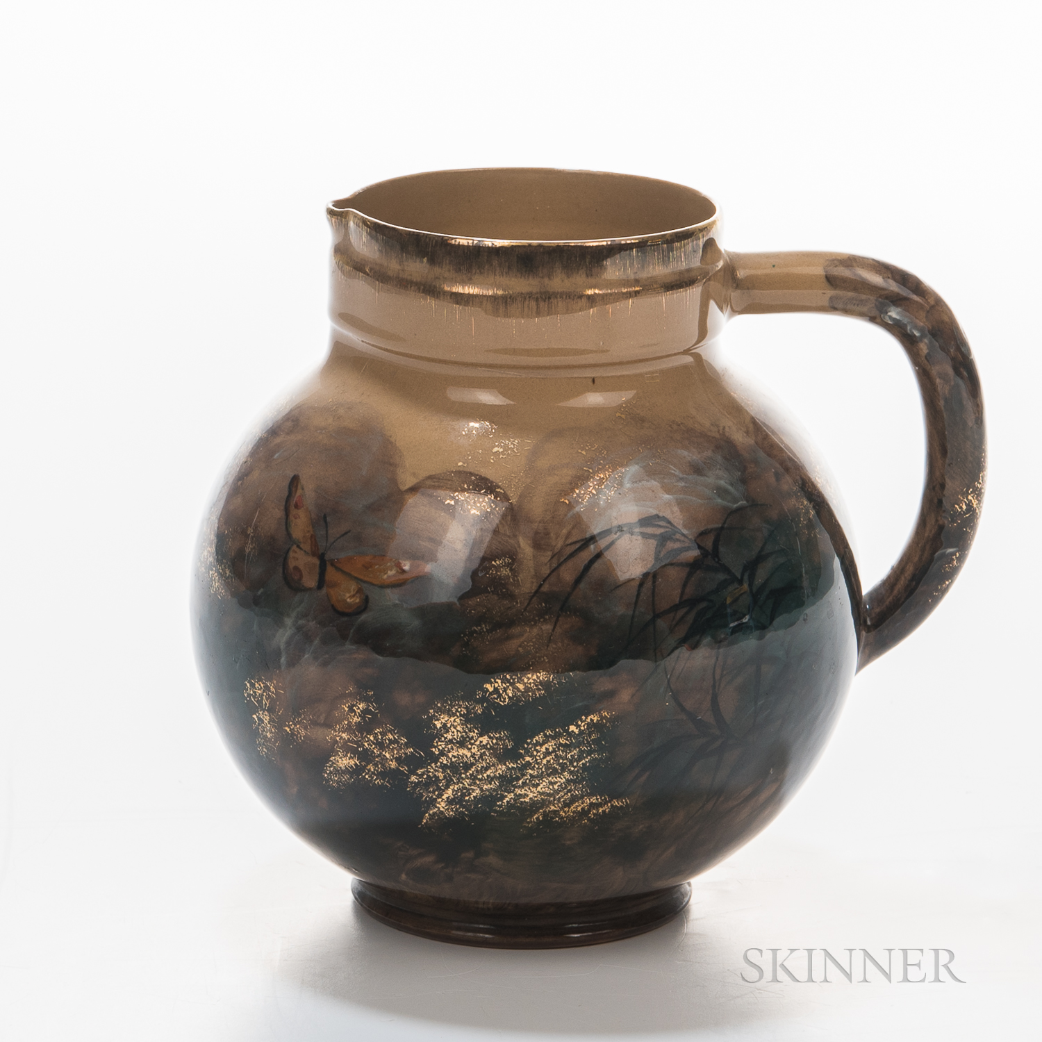 Early Albert R. Valentien (1862-1925) Rookwood Pottery Pitcher