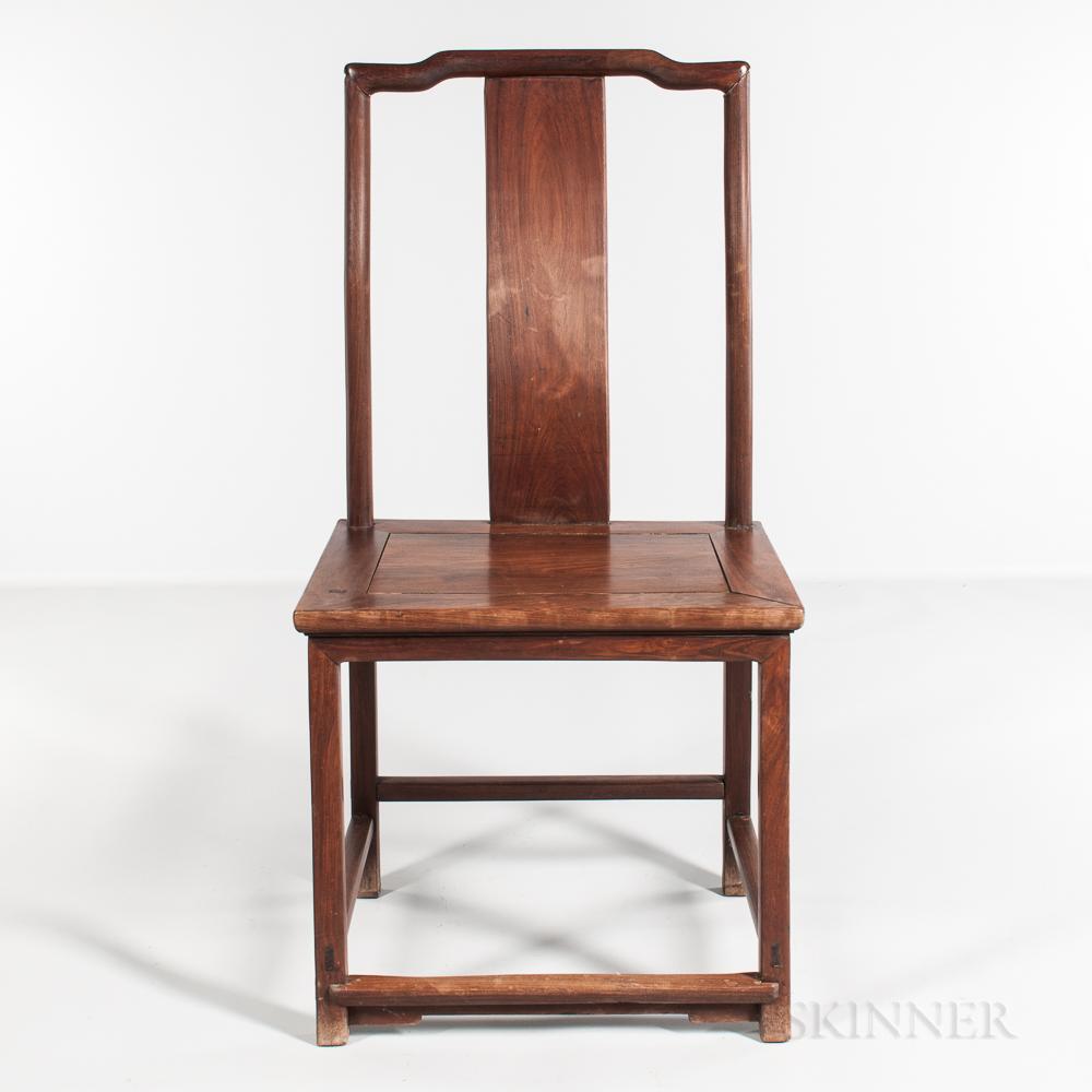 Hardwood Yoke-back Side Chair