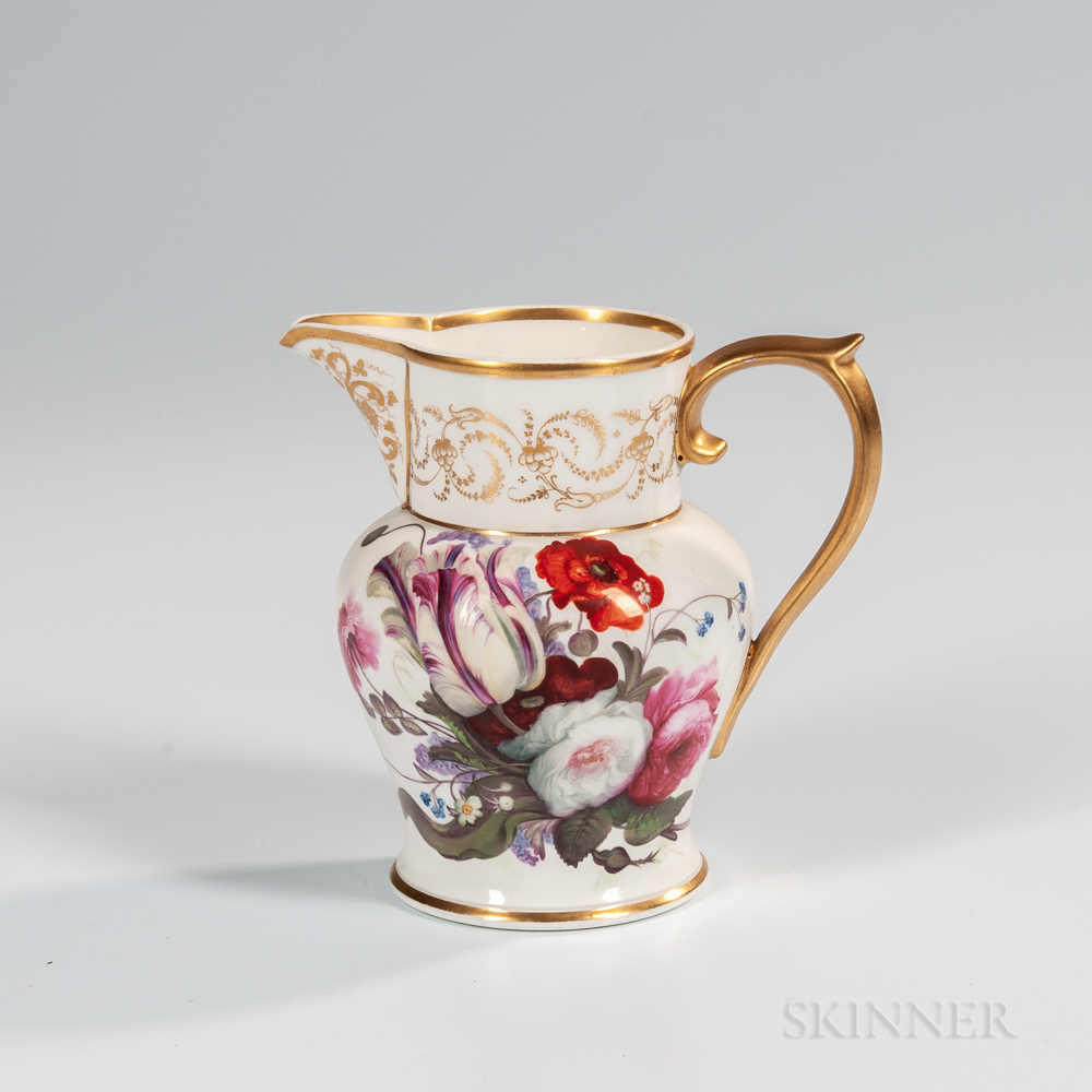 Hand-painted Porcelain Pitcher