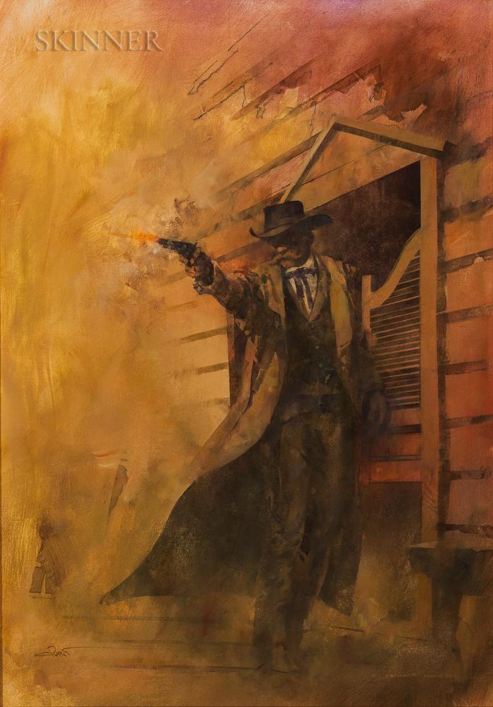Robert Crofut (American, b. 1951)    Wyatt Earp