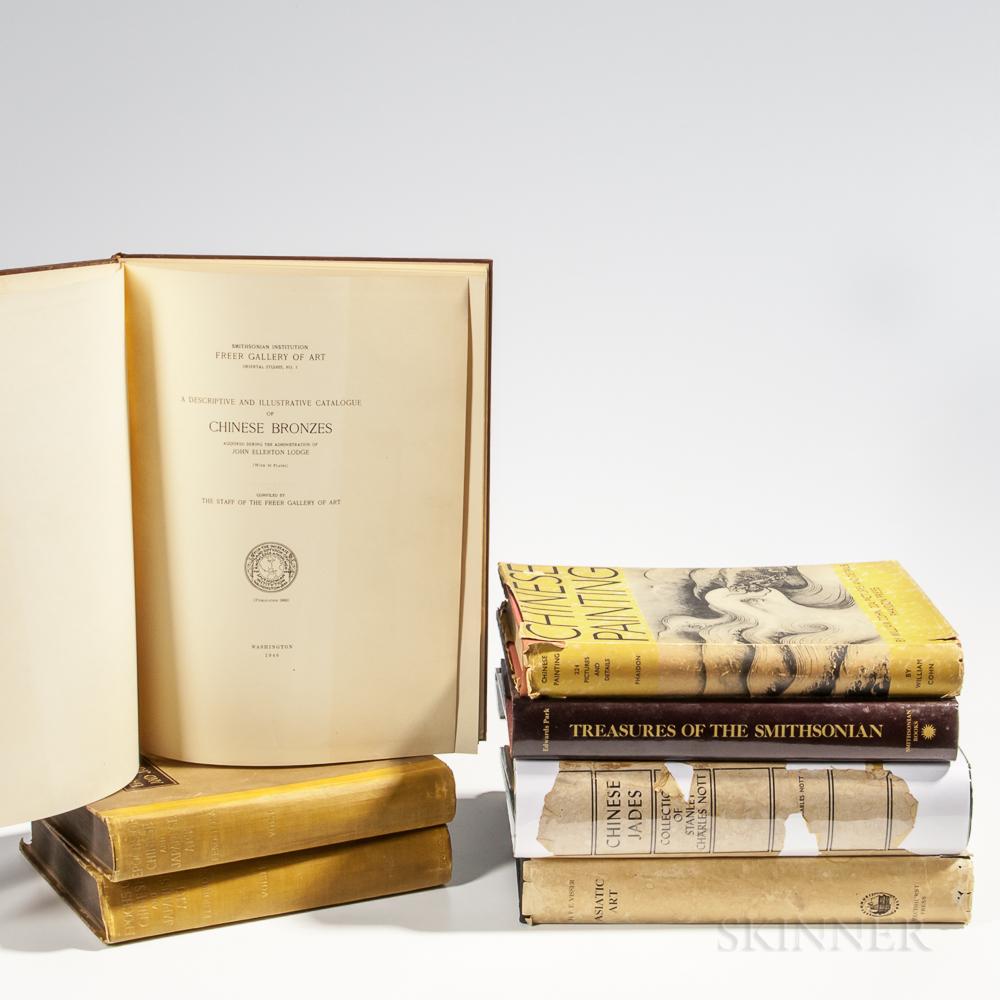 Six Chinese Art Reference Books