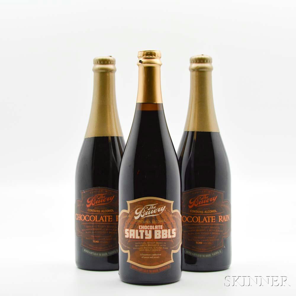 The Bruery Chocolate Rain, 3 bottles