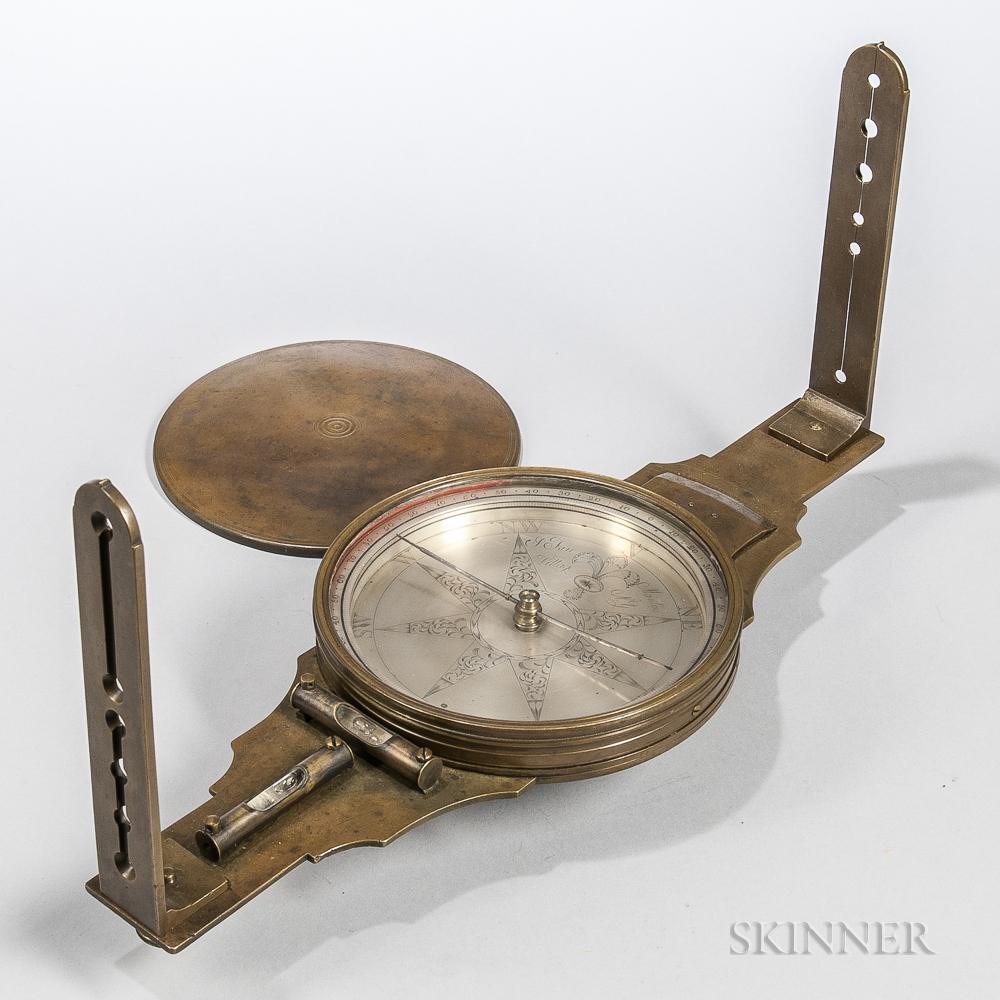 Joseph Farr Surveyor's Vernier Compass