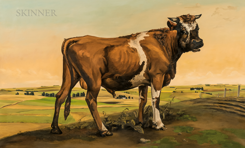 Stephen Bush (Australian, b. 1958)      Cow