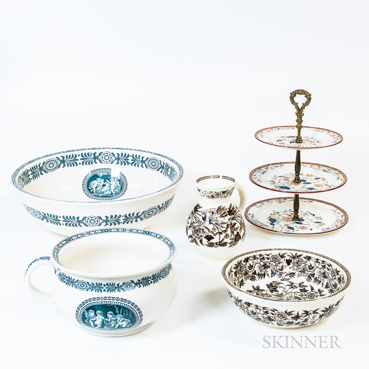 Five Pieces of Wedgwood Tableware