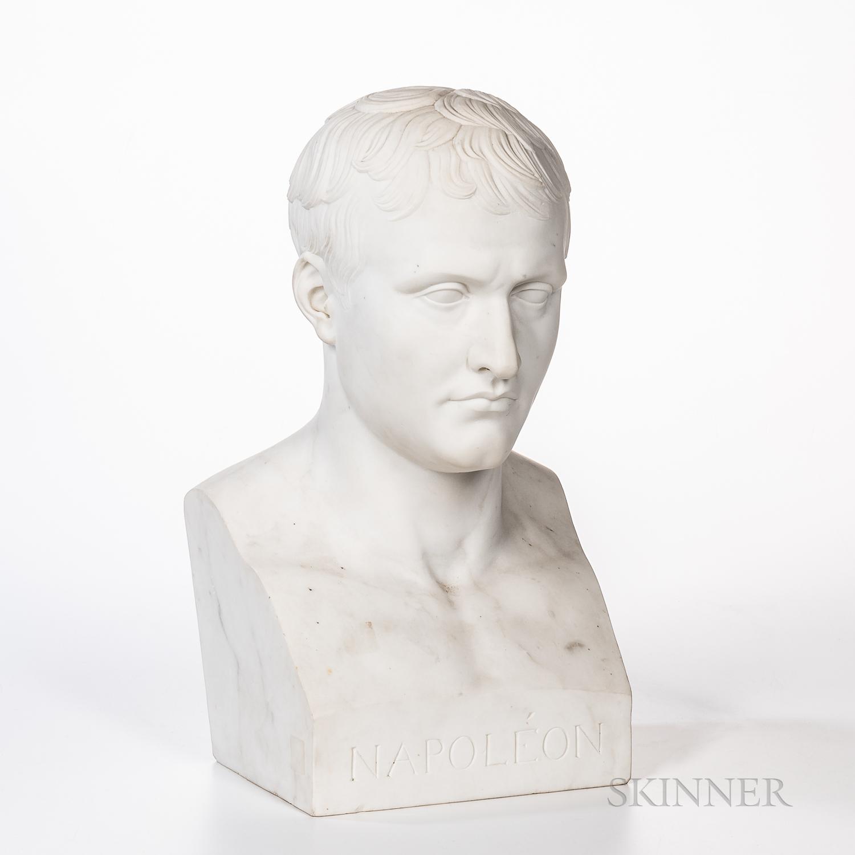 Marble Bust of Napoleon