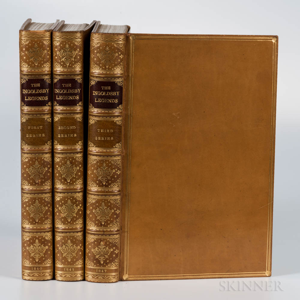 Ingoldsby, Thomas [aka Richard Harris Barham] (1788-1845) The Ingoldsby Legends or Mirth and Marvels, First, Second, and Third Series.