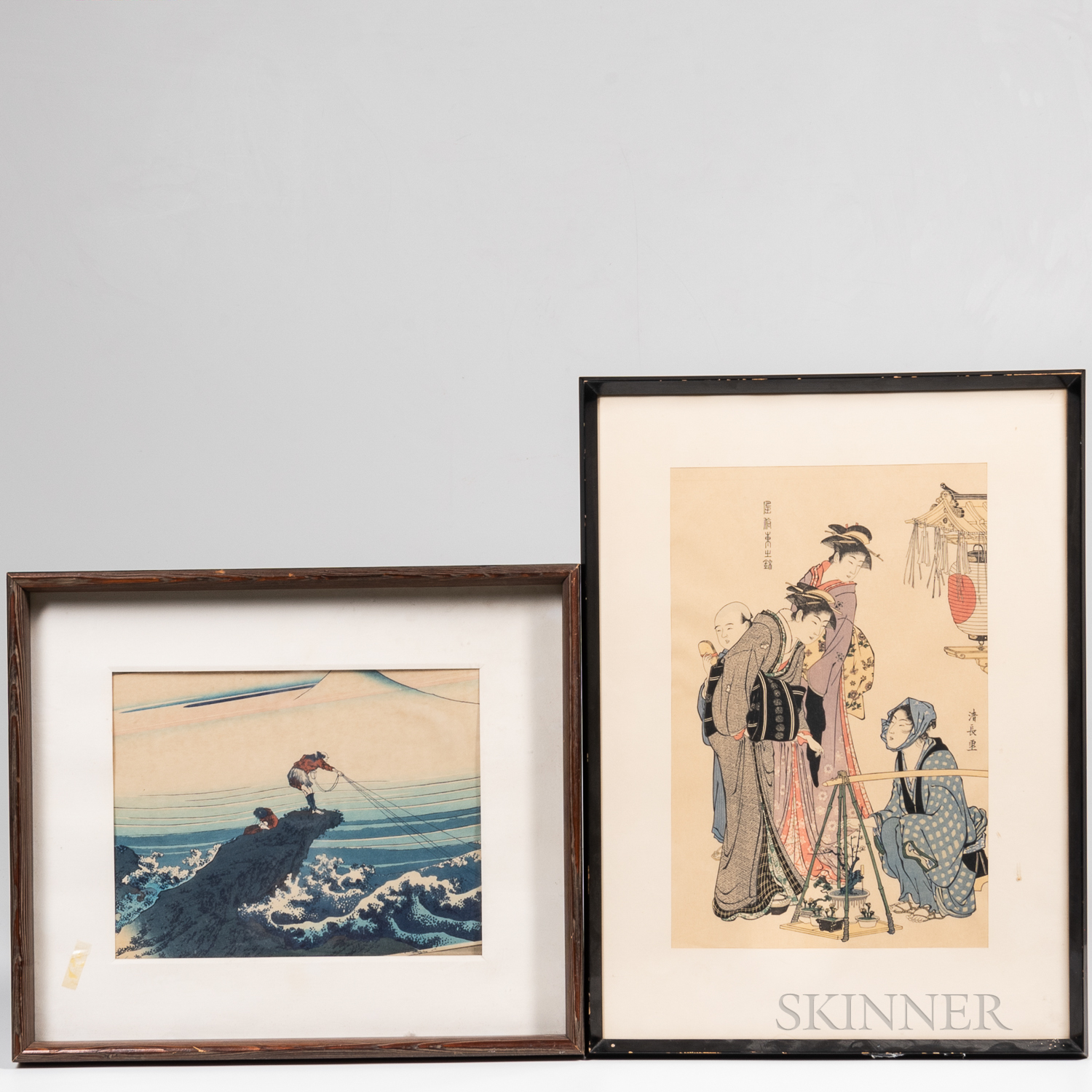 Two Ukiyo-e Woodblock Prints