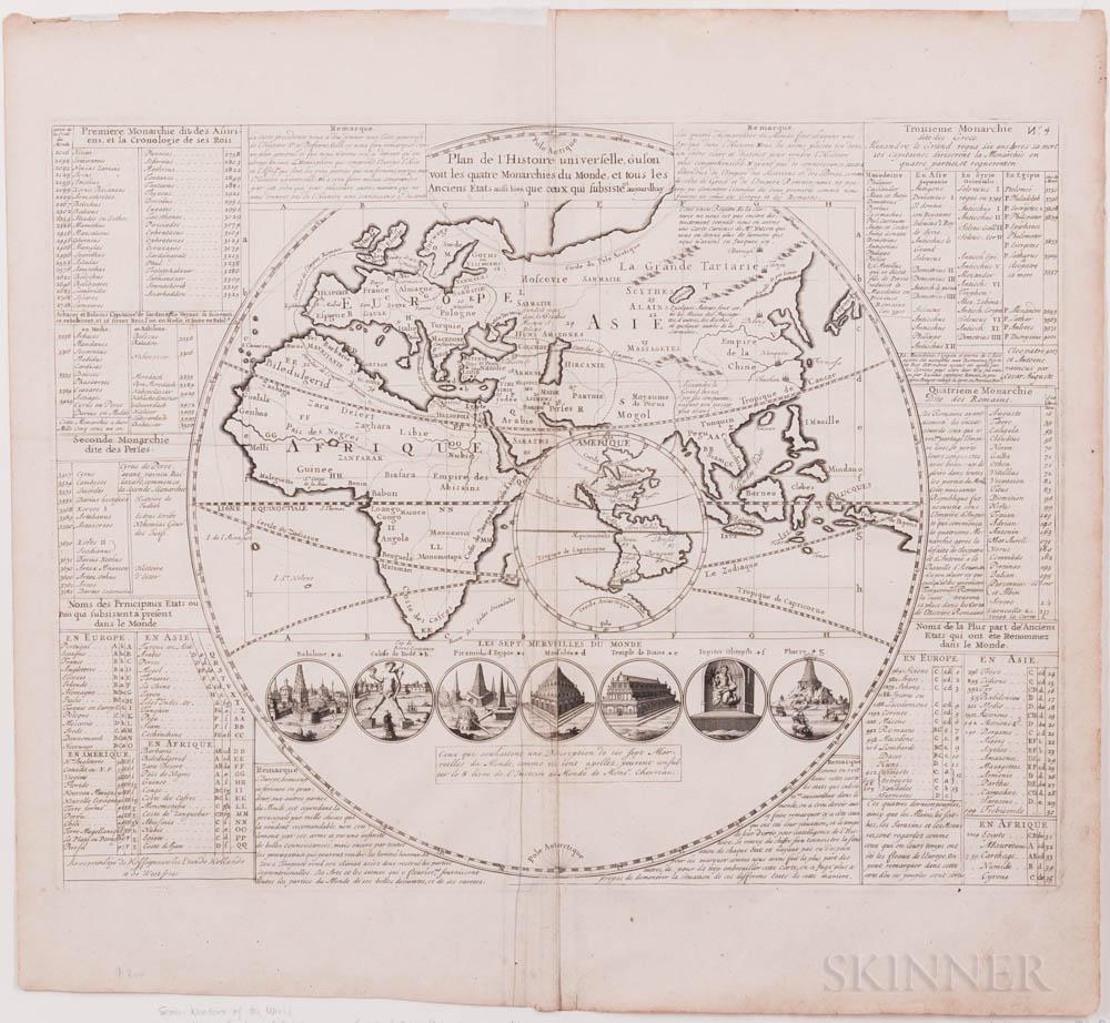 World Maps, Eleven, 18th Century.