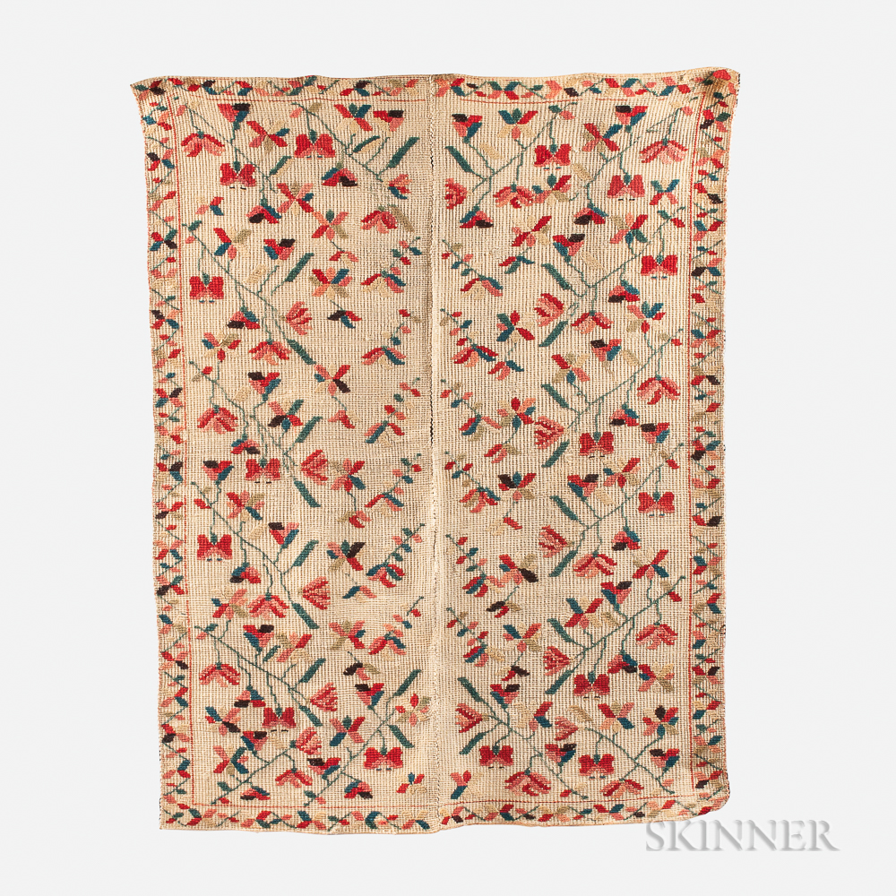 Woven Wool Coverlet
