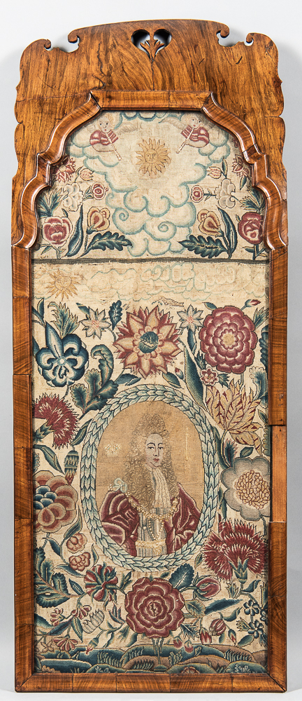 Early English Needlework Picture