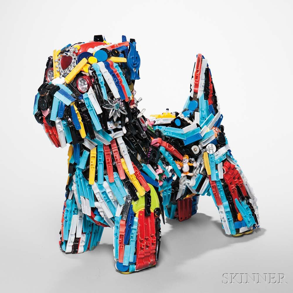 Robert Bradford Sculpture Dog-E-Dog
