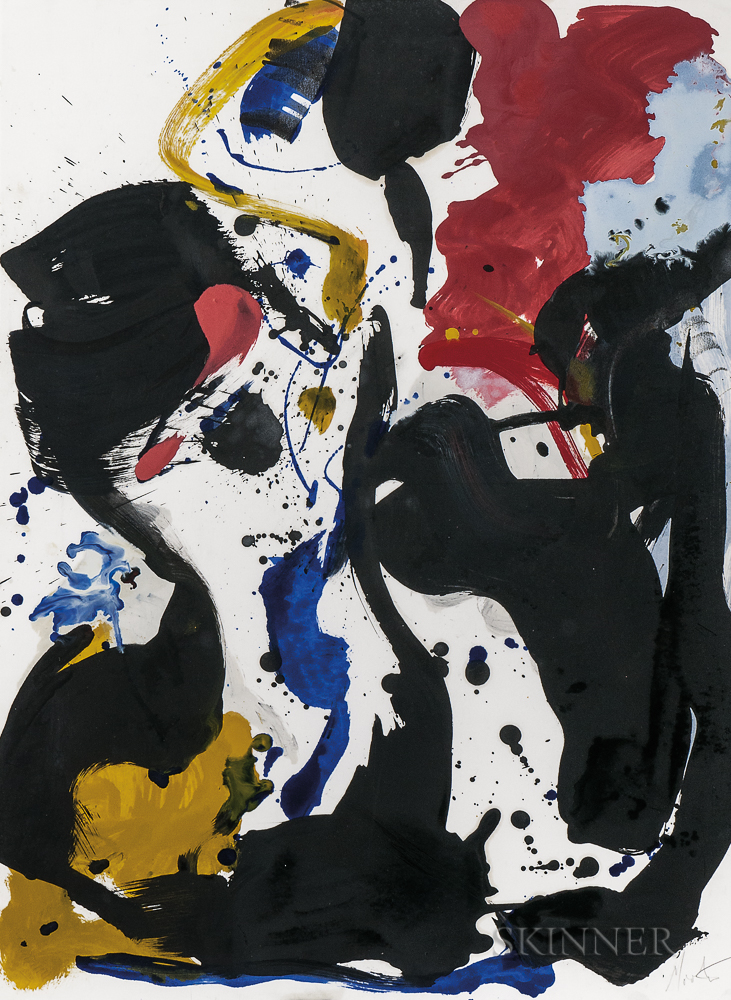 Jean Miotte (French, 1926-2016)      Abstract