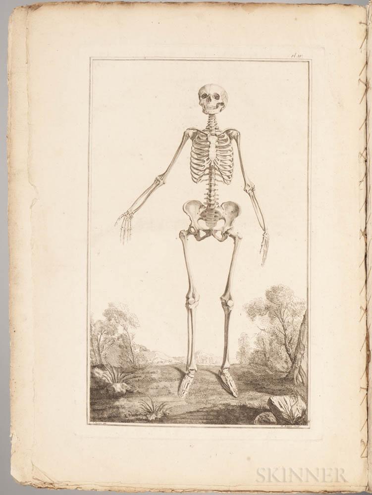 Monro, Alexander (1697-1767) Traite D'Osteologie  .