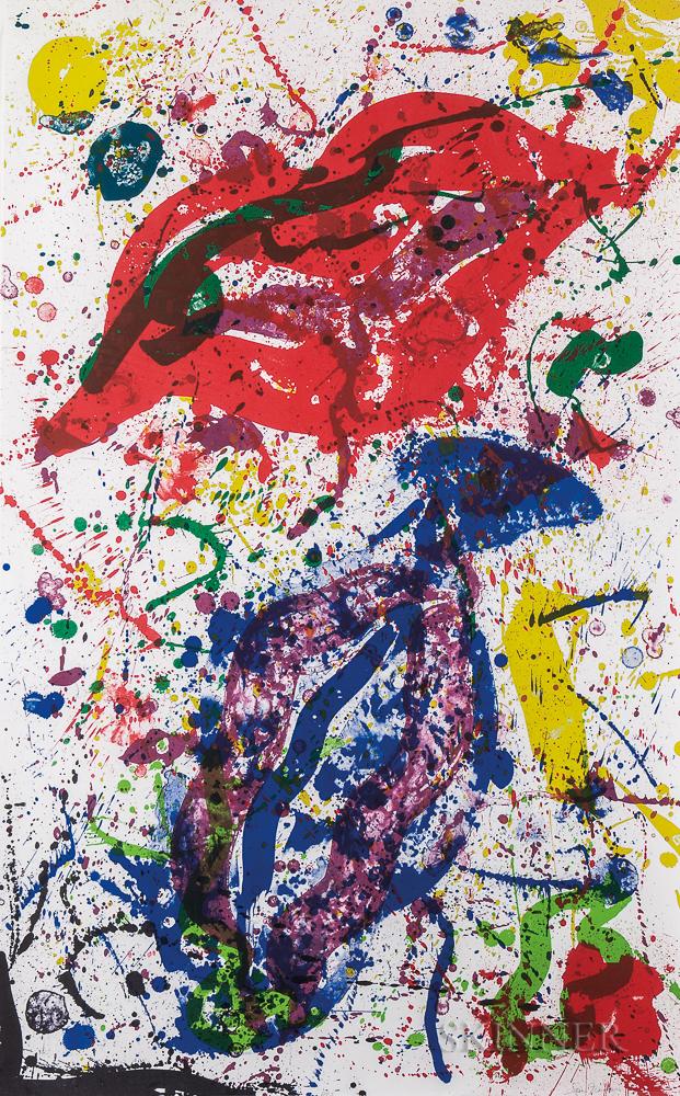 Sam Francis (American, 1923-1994)      Untitled (SF-329)