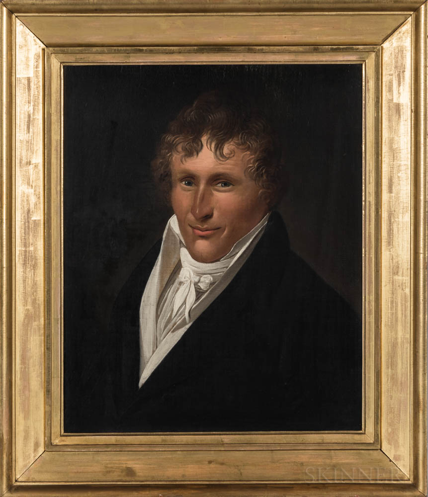 Attributed to Charles Delin (Dutch, 1756-1818)    Portrait of a Gentleman