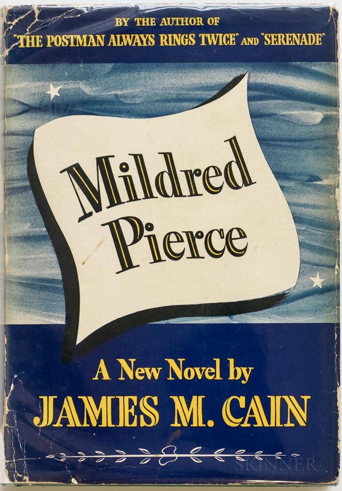 Cain, James M. (1892-1977) Mildred Pierce  , ex libris Film Director George Cukor (1899-1983).