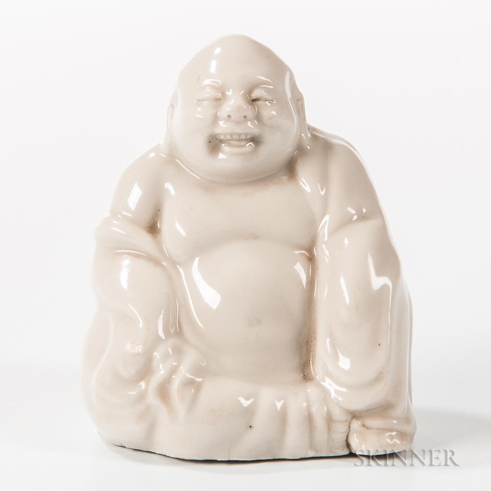Blanc-de-Chine Figure of Putai