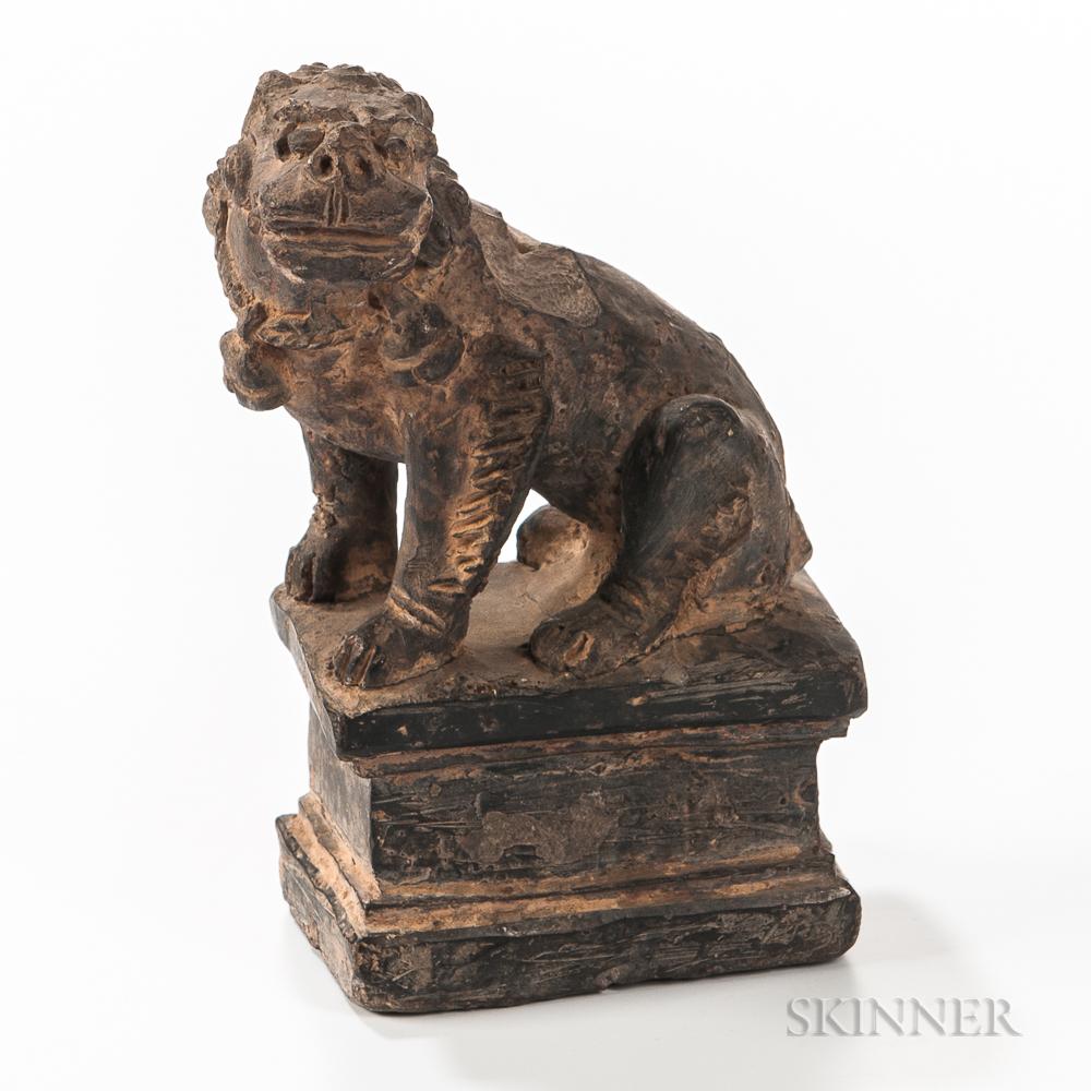 Stoneware Lion