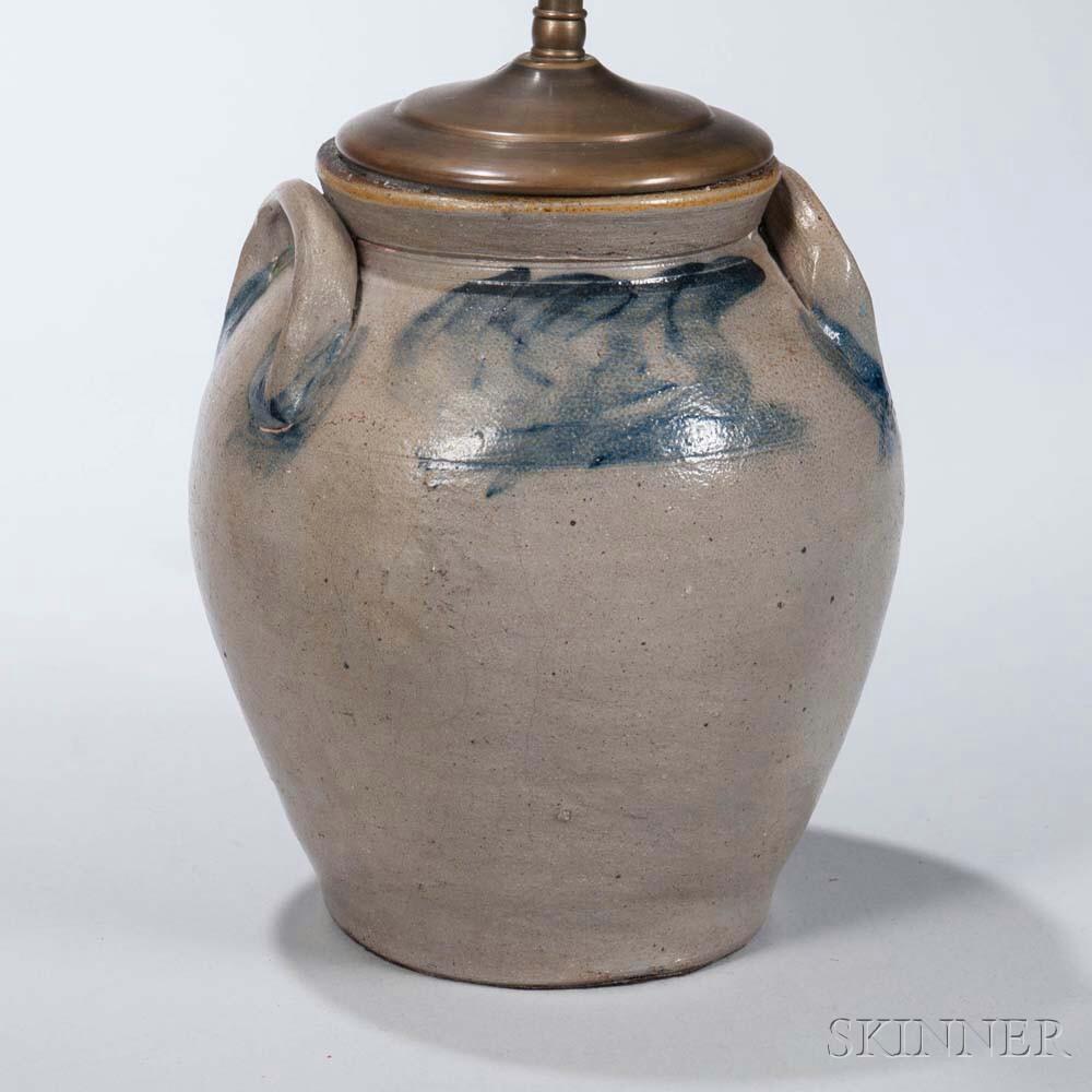 Ovoid Stoneware Jug