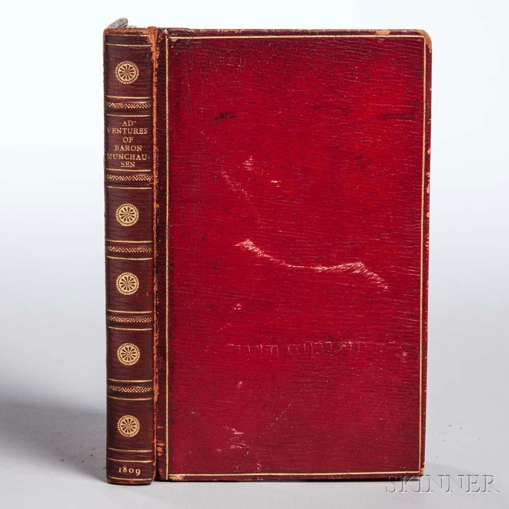 Raspe, Rudolph Erich (1737-1794) Surprising Adventures of the Renowned Baron Munchausen.