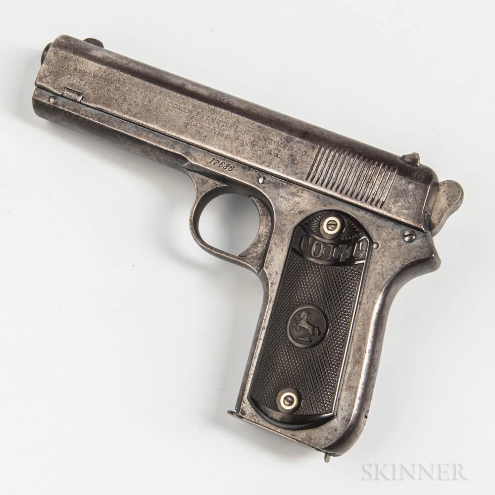 Colt Model 1903 Pocket Hammer Semiautomatic Pistol