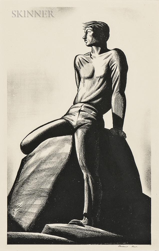 Rockwell Kent (American, 1882-1971)      Pinnacle