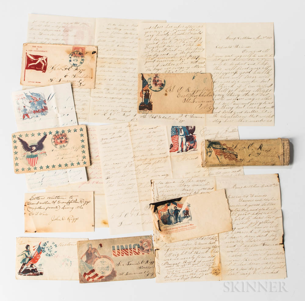 Group of Civil War Letters by Daniel R. Freeman, Company K, 60th New York Infantry