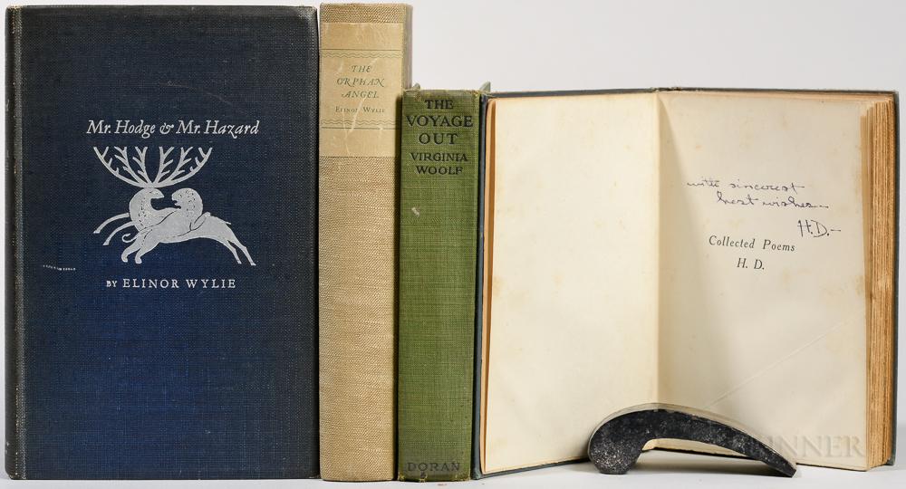 Female Authors, Four Titles, 20th Century.