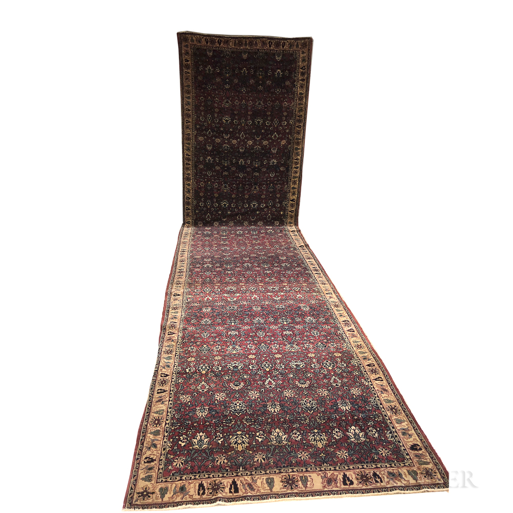 Indo-Kashan Gallery Carpet