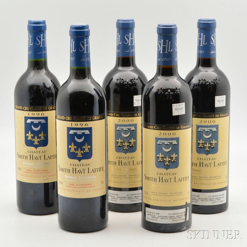 Chateau Smith Haut Lafitte Vertical, 5 bottles