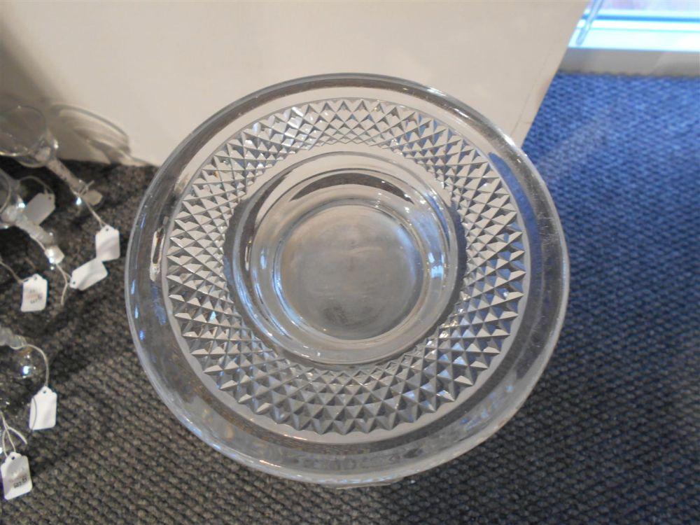 Webb Cut Glass Vase