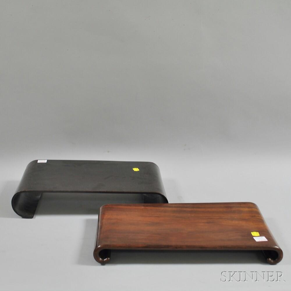 Three Wooden Stands