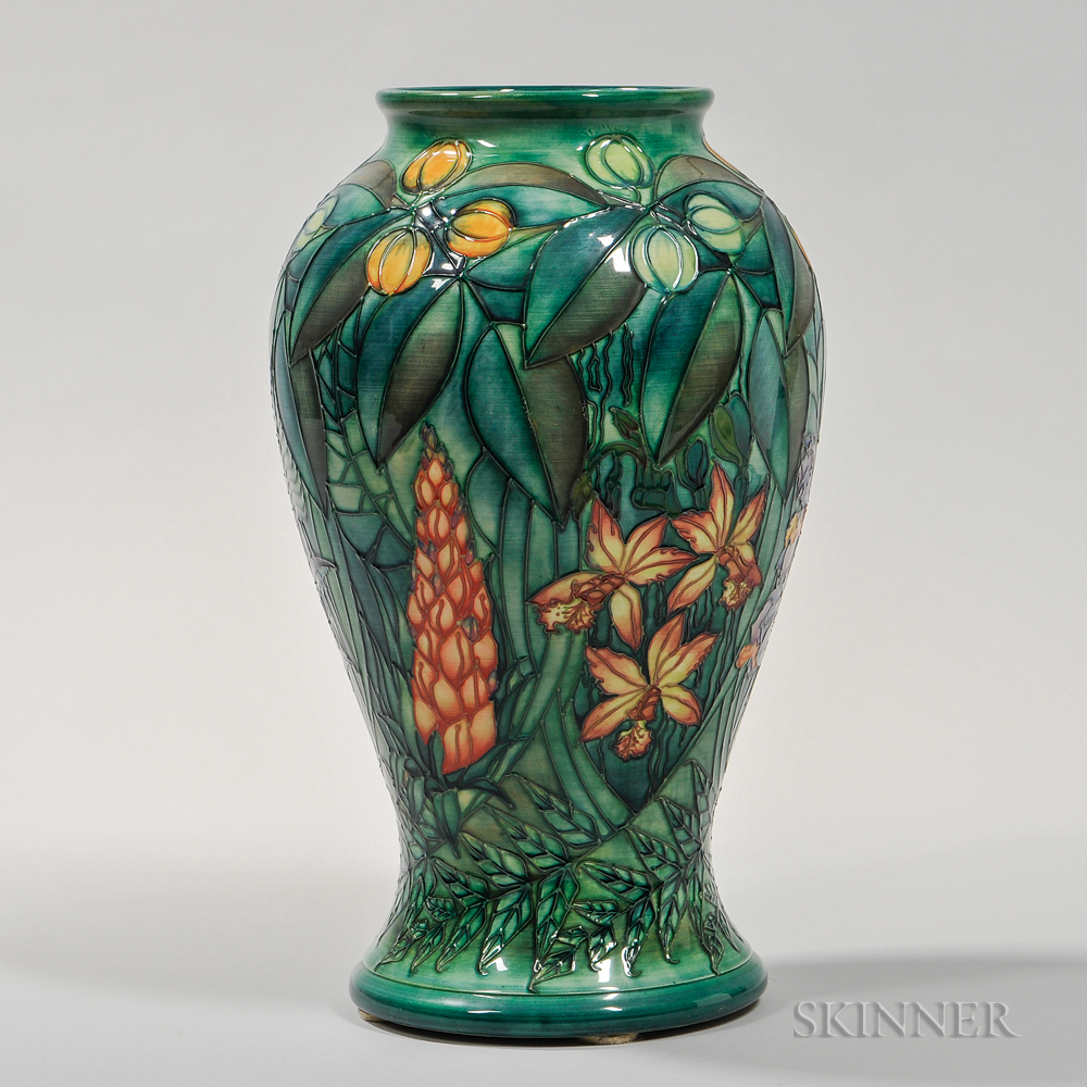 Large Moorcroft Floral-decorated Vase