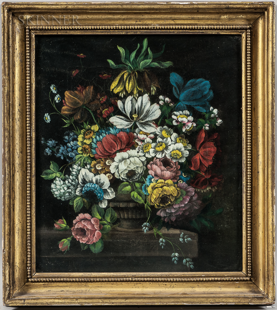 British School, 19th Century      Floral Still Life