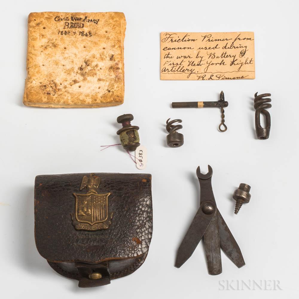 Group of Civil War Items