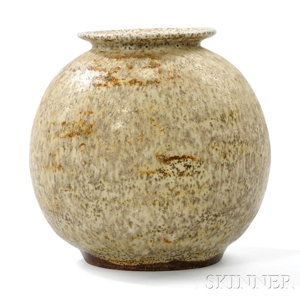 Roberta Leber McVeigh (1909-1983) Pottery Vase