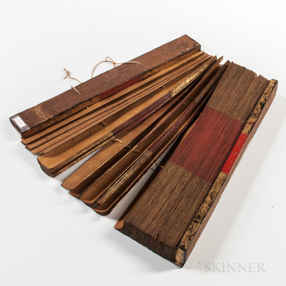 Pali   Palm-leaf Buddhist Manuscripts