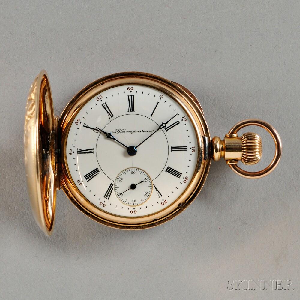 Hampden Lady's Hunter-case Watch