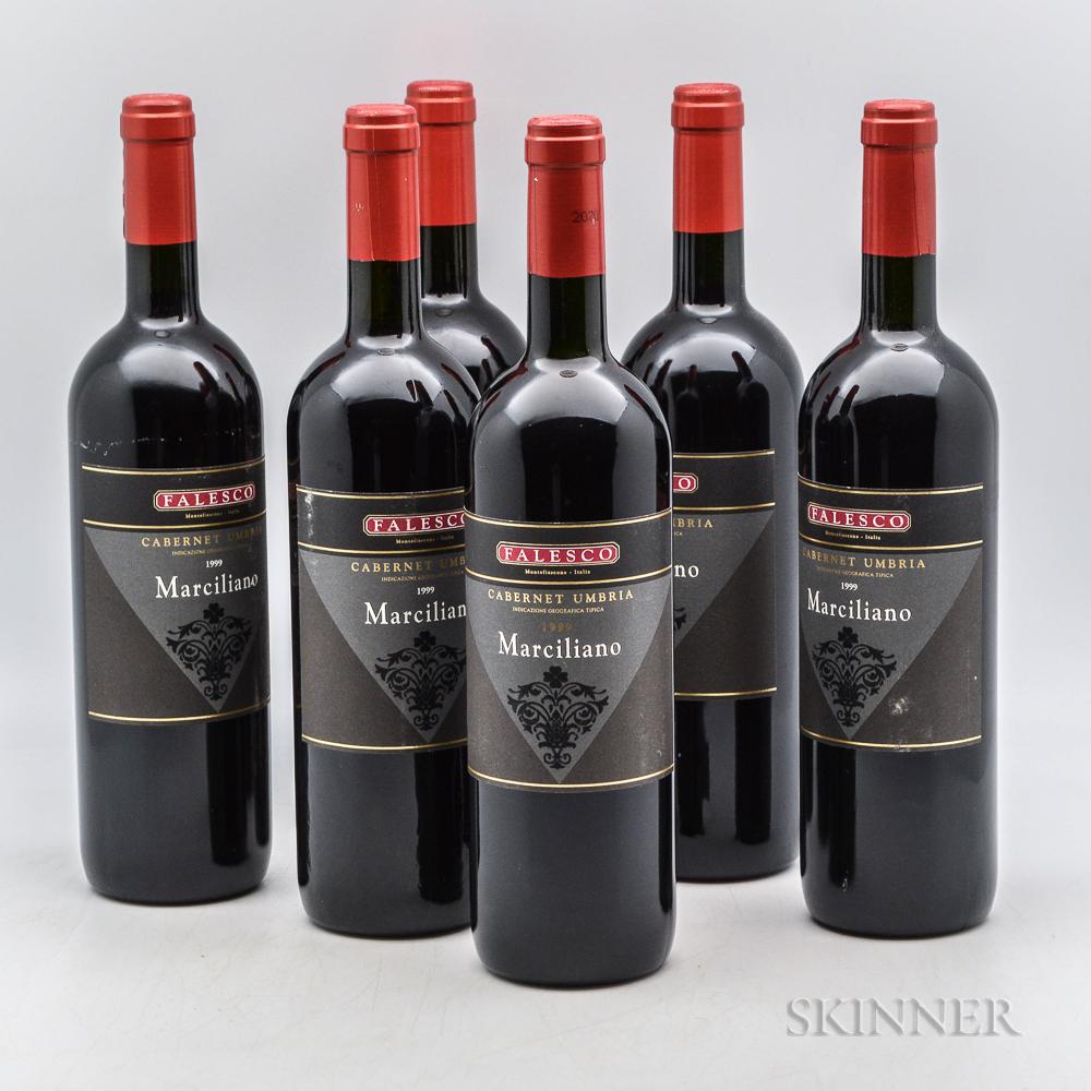 Falesco Marciliano Rosso 1999, 6 bottles