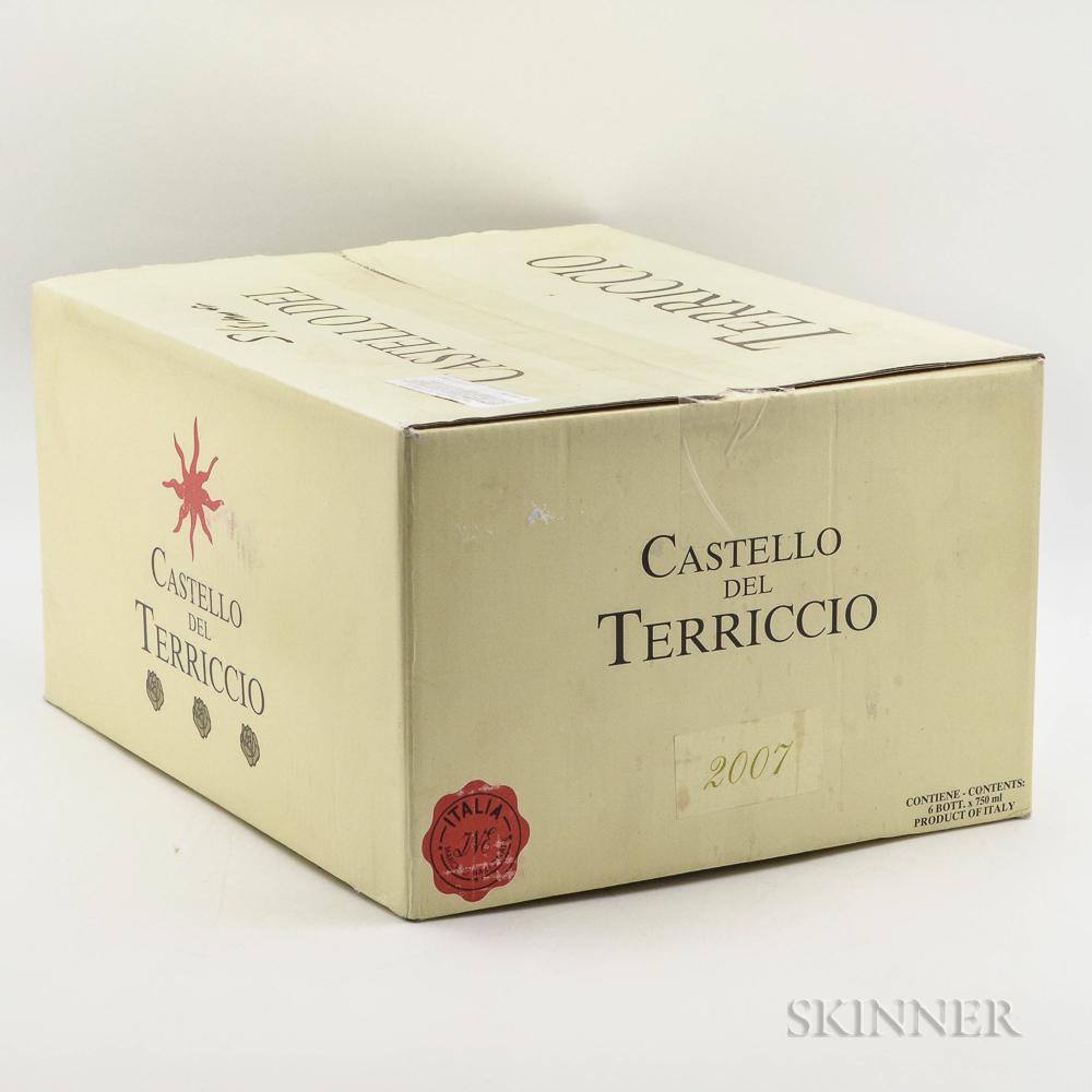 Castello del Terriccio Terriccio 2007, 6 bottles (oc)