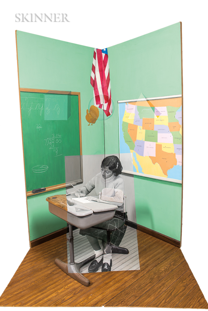 Gillian Brown (American, 20th/21st Century)    Untitled (Classroom)
