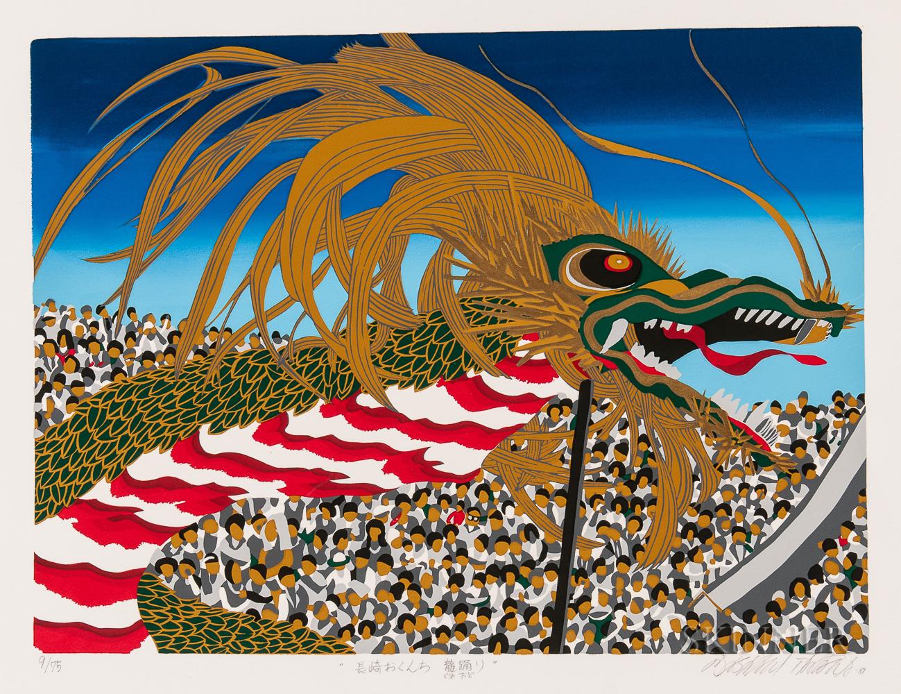 Seven Japanese Prints