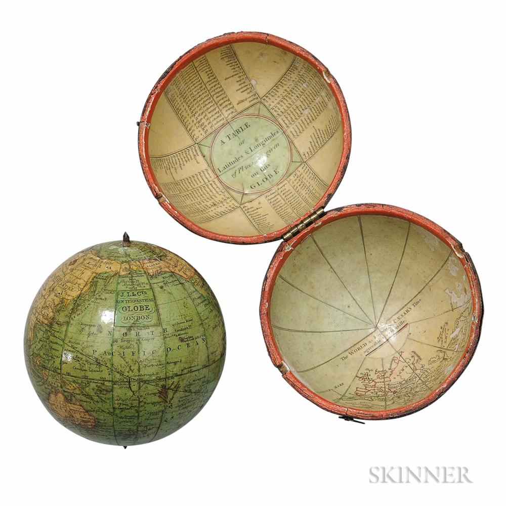 Terrestrial 3-inch Cased Pocket Globe