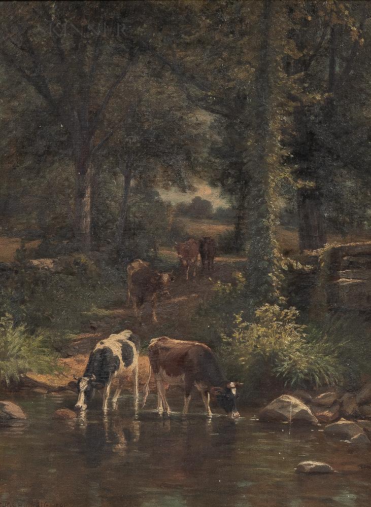 Thomas Bigelow Craig (American, 1849-1924)      The Watering Place