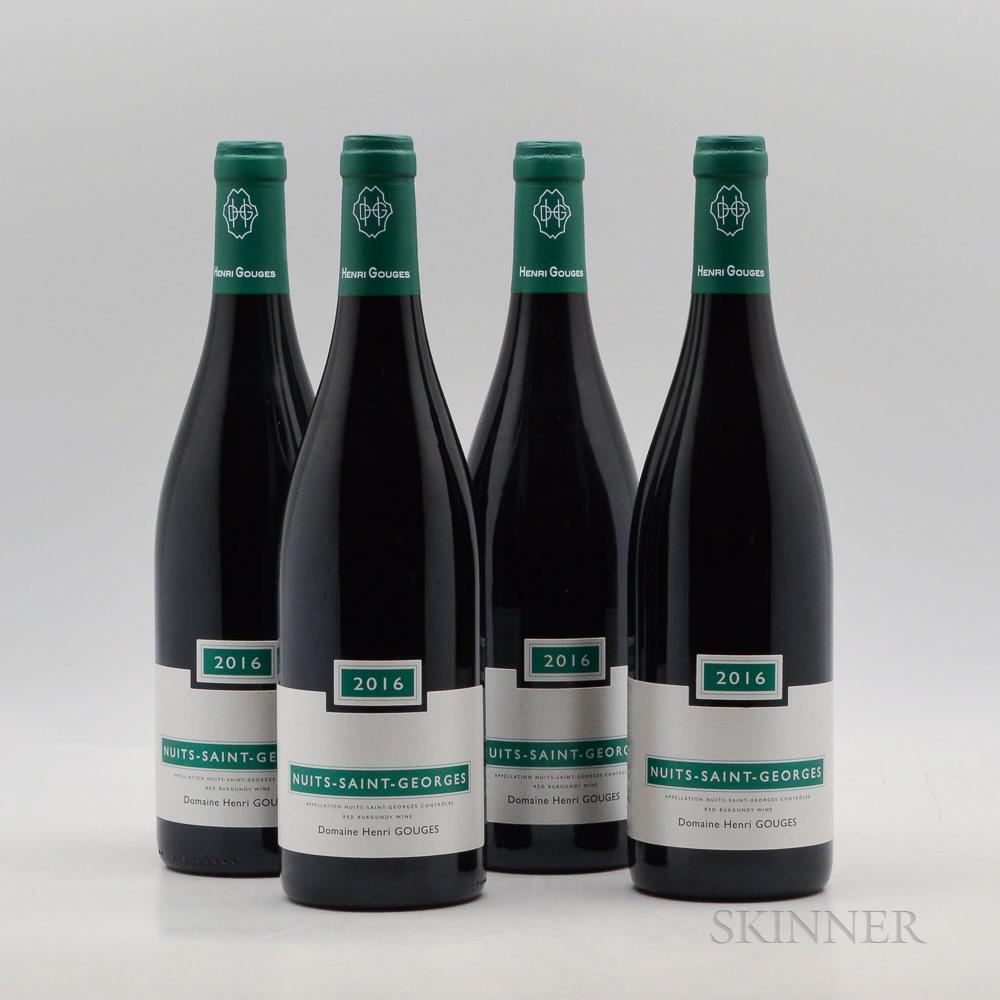 Henri Gouges Nuits Saint Georges 2016, 4 bottles