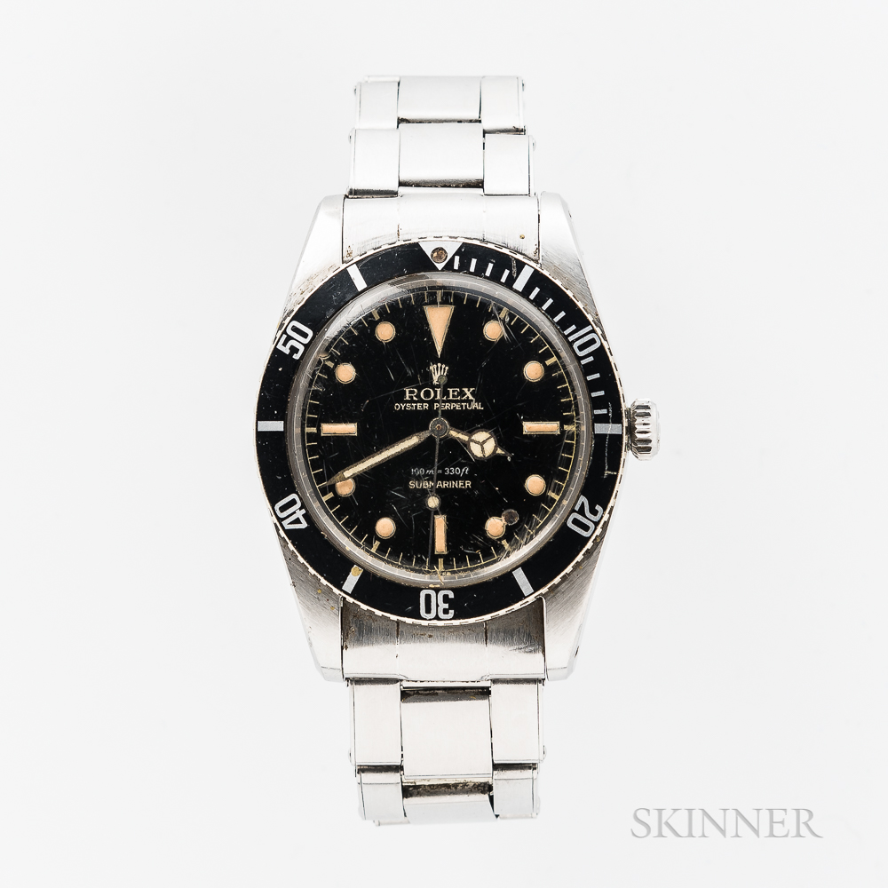 """Single-owner Unserviced Rolex Reference 5508 """"James Bond"""" Wristwatch"""